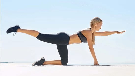Bird Dog Plank - Why strong core is important