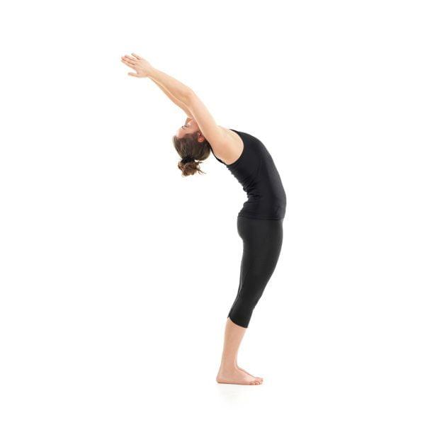 Lower Back Pain Exercise: Standing Backbend